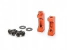 Стойки крепления серво - Aluminum Servo Mount SET (orange)