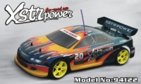 Xstr Power 4WD, масштаб 1:10, с ДВС (нитрометан), HSP 2.4Ghz