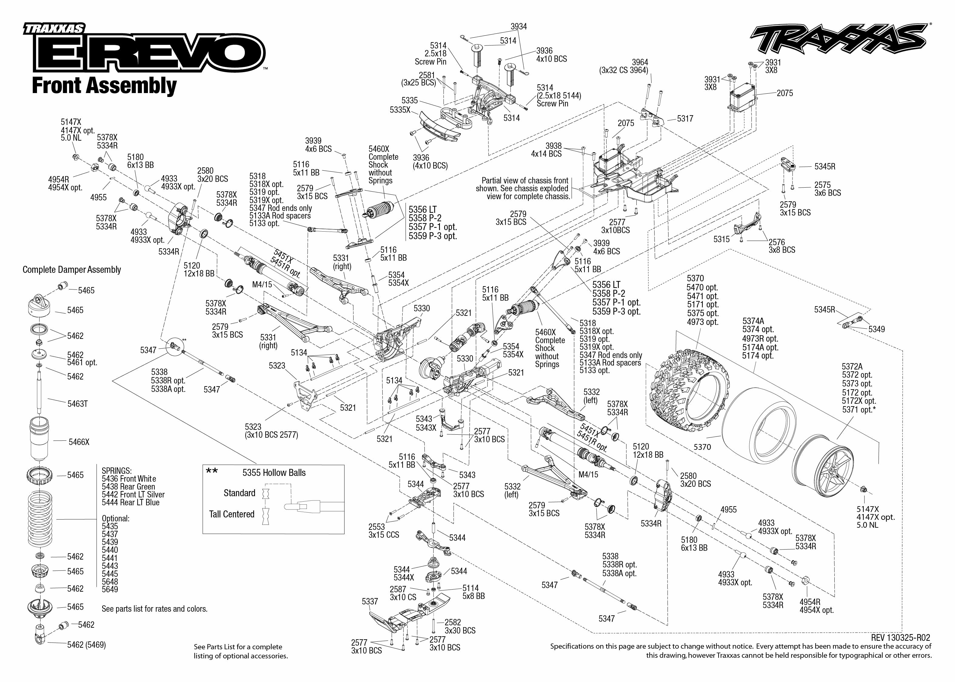 Revo 3 3 Rebuild Instruction Manual